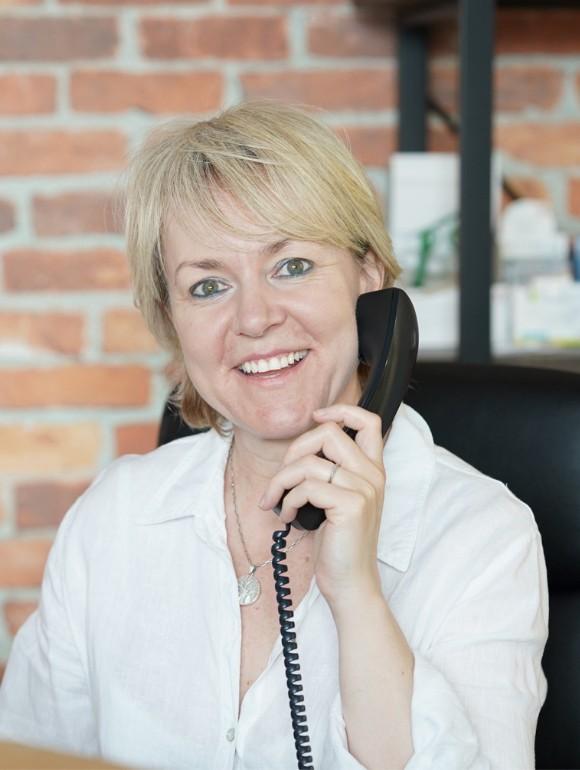 Karen Haslett – Receptionist