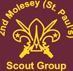 Second Molesey scout group logo